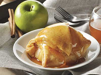Apple Dumplings are whole cored apples tumbled with cinnamon and sugar ...