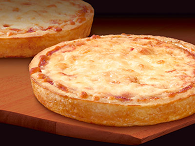 """LITTLE CHARLIES® 5"""" Cheese Pizza - Canada - Schwan's Food Service"""