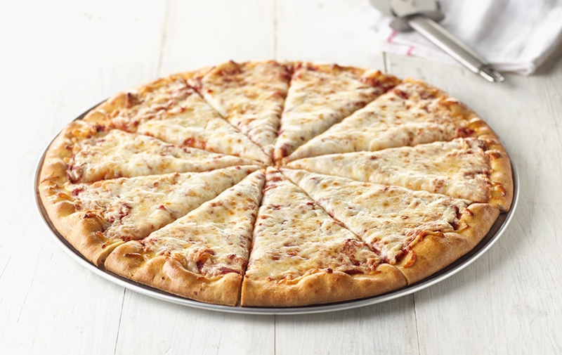 "16"" WG Par-Baked Crust Cheese Pizza"