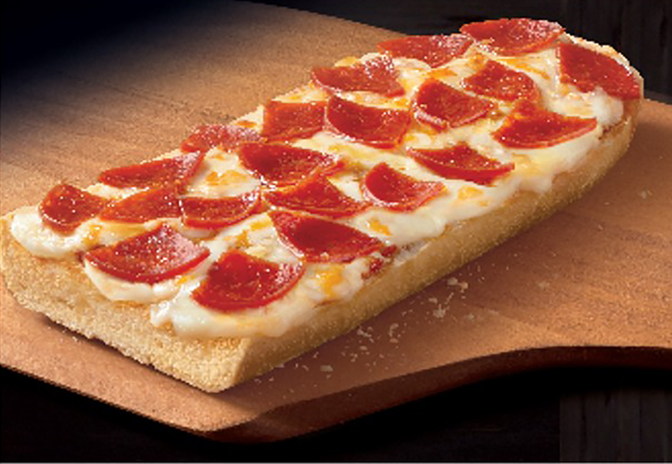 French Bread Pepperoni Pizza IW
