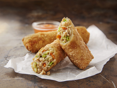 MINH® 3.0 oz WG Pork & Vegetable Egg Roll
