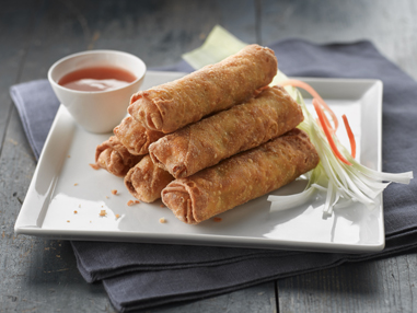 MINH®  1.5 oz Pork & Vegetable Egg Roll - no MSG